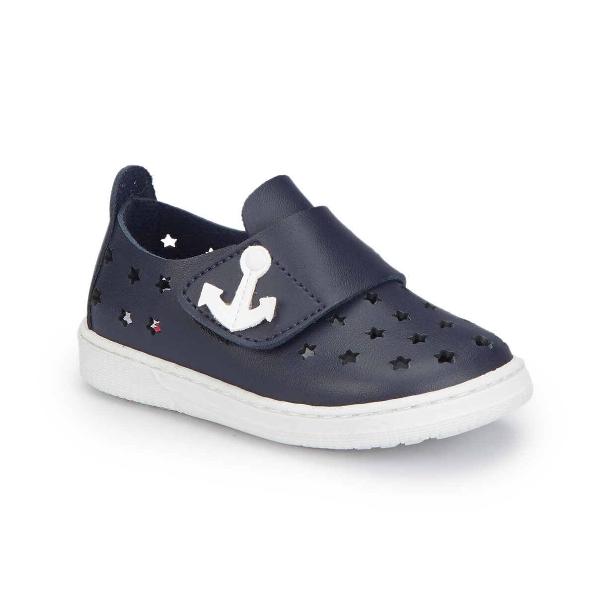 FLO 81.510270.B Navy Blue Male Child Sneaker Shoes Polaris
