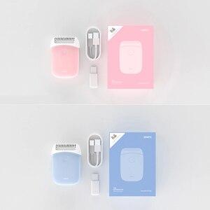 Image 5 - Xiaomi Smate חשמלי אפילציה מיני נייד שיער הסרת גוזם נשים USB נטענת חלק מכונת גילוח עמיד למים אפילציה