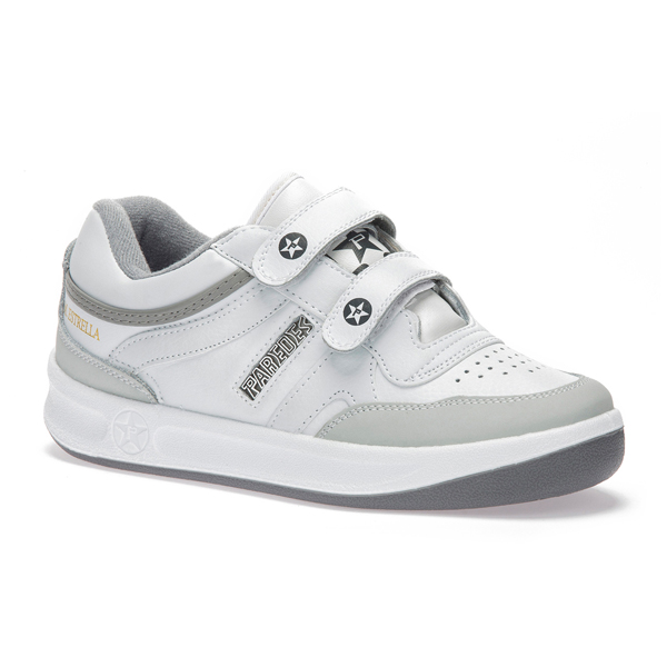 Trainers Paredes ESTRELLA Velcro White   - title=