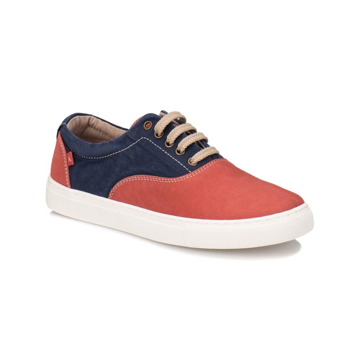 FLO ASTON G Burgundy Men 'S Shoes KINETIX