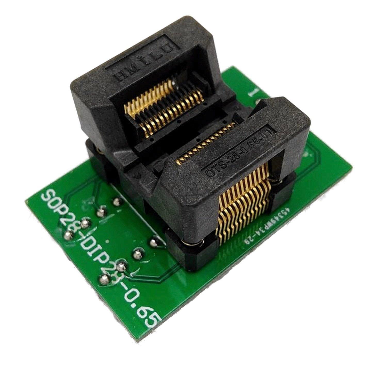 Programmer socket Sop28 to Dip28 PITCH 0,65 все цены