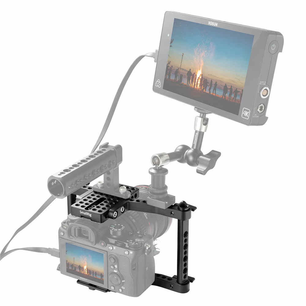 Smallrig Dslr Camera Kooi Voor Canon 650D 600D 550D Voor Sony A7 A7II Voor Panasonic GH5 GH4 GH3 GH2 Kooi rig-1630