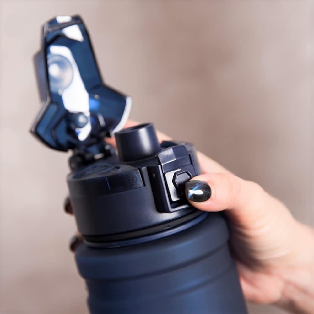Water Bottle Large Sports Protein Shaker Outdoor Travel Portable Leakproof Tritan plastic Large Capacity Drink Bottle BPA Free Water Bottles     - AliExpress