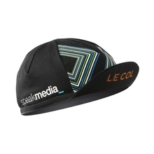 LE COL Racing team with bicycle helmet inside cloth cap integrated breathable wear hat headdress