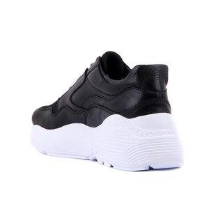 Image 4 - Đường Lakers Chính Hãng Da Giày Sneaker Nữ Giày Thể Thao Thời Trang Bố Giày Nền Tảng Giày Femme Krasovki