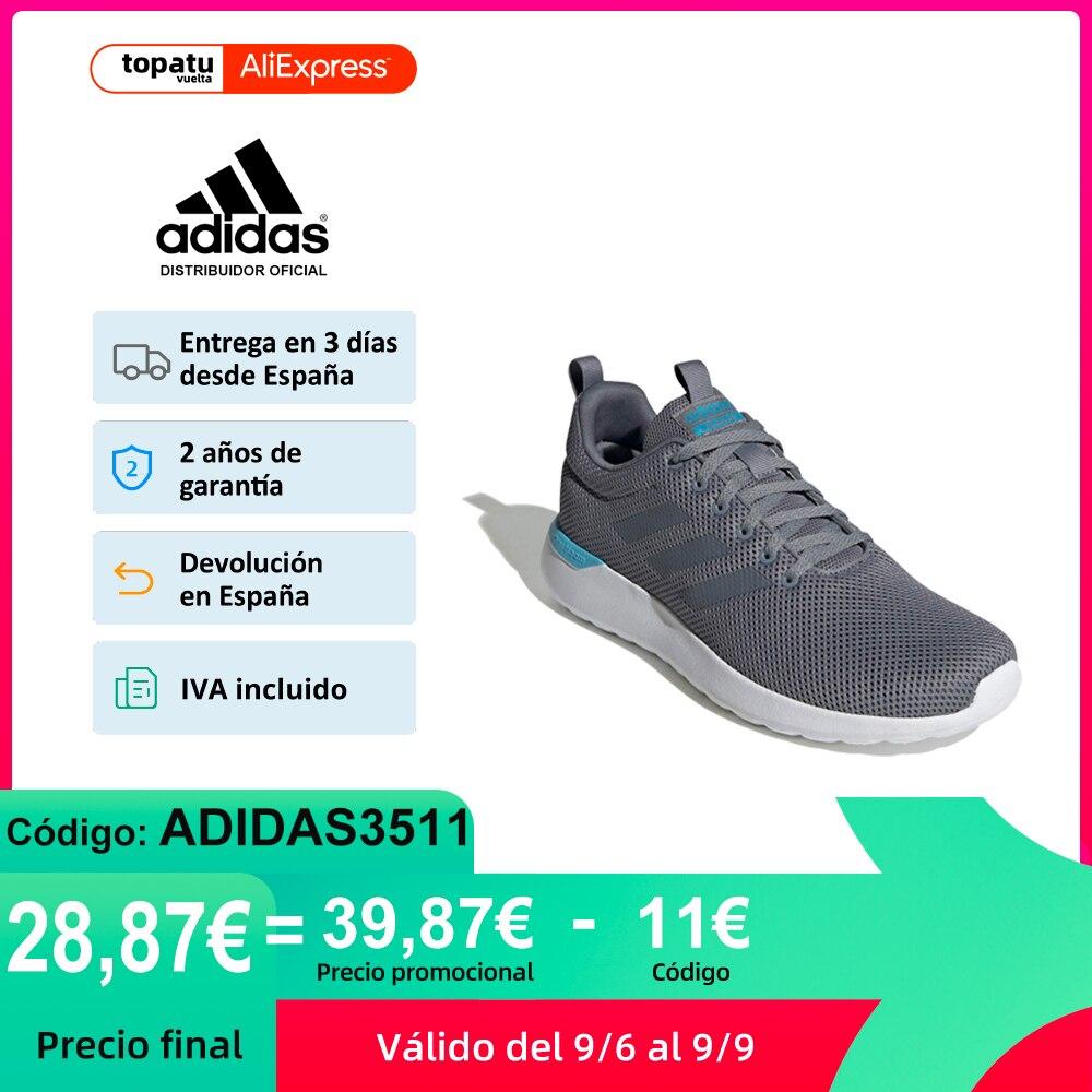 Adidas Lite Racer CLN, Zapatillas Running Unisex, Cierre cordones, Parte Superior Malla, Cloudfoam, OrthoLite NUEVO ORIGINAL|Zapatillas de correr| - AliExpress