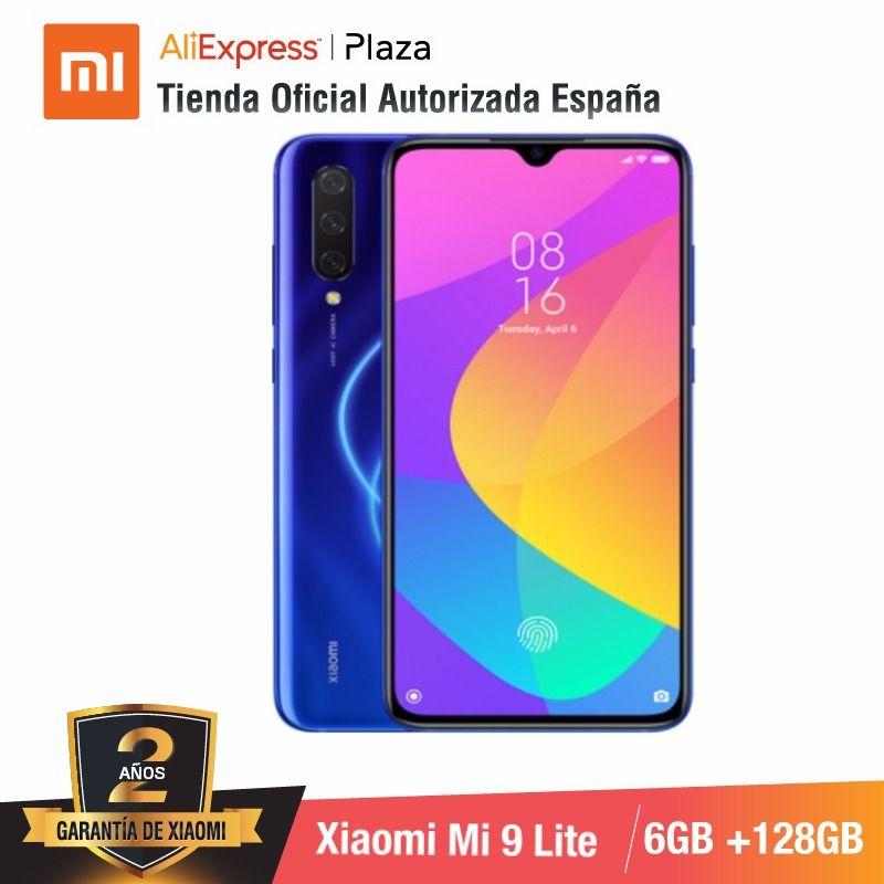 Global Version For Spain] Xiaomi Mi 9 Lite (Memoria Interna De 128GB, RAM De 6GB, Selfies De 32 MP Y Triple Cámara De 48 MP)