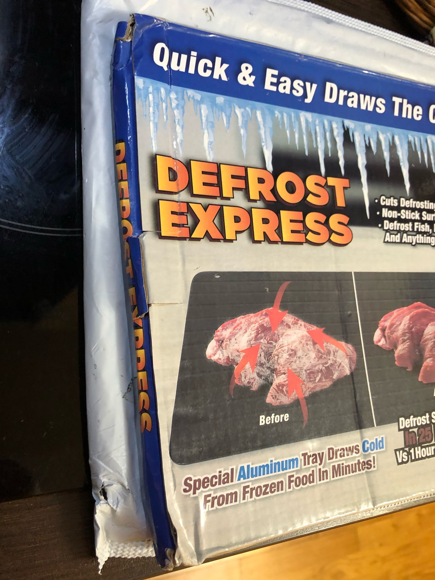 Fast Defrosting Tray photo review