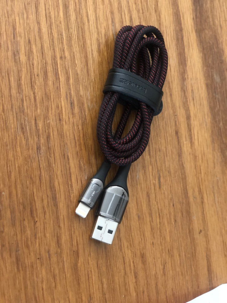 Baseus Smart Power Off USB Cable for iPhone XR Xs Max 11 Pro 8Plus 2.4A Fast Charging USB Charger Cable for iPhone LED Data Wire-in Mobile Phone Cables from Cellphones & Telecommunications on AliExpress