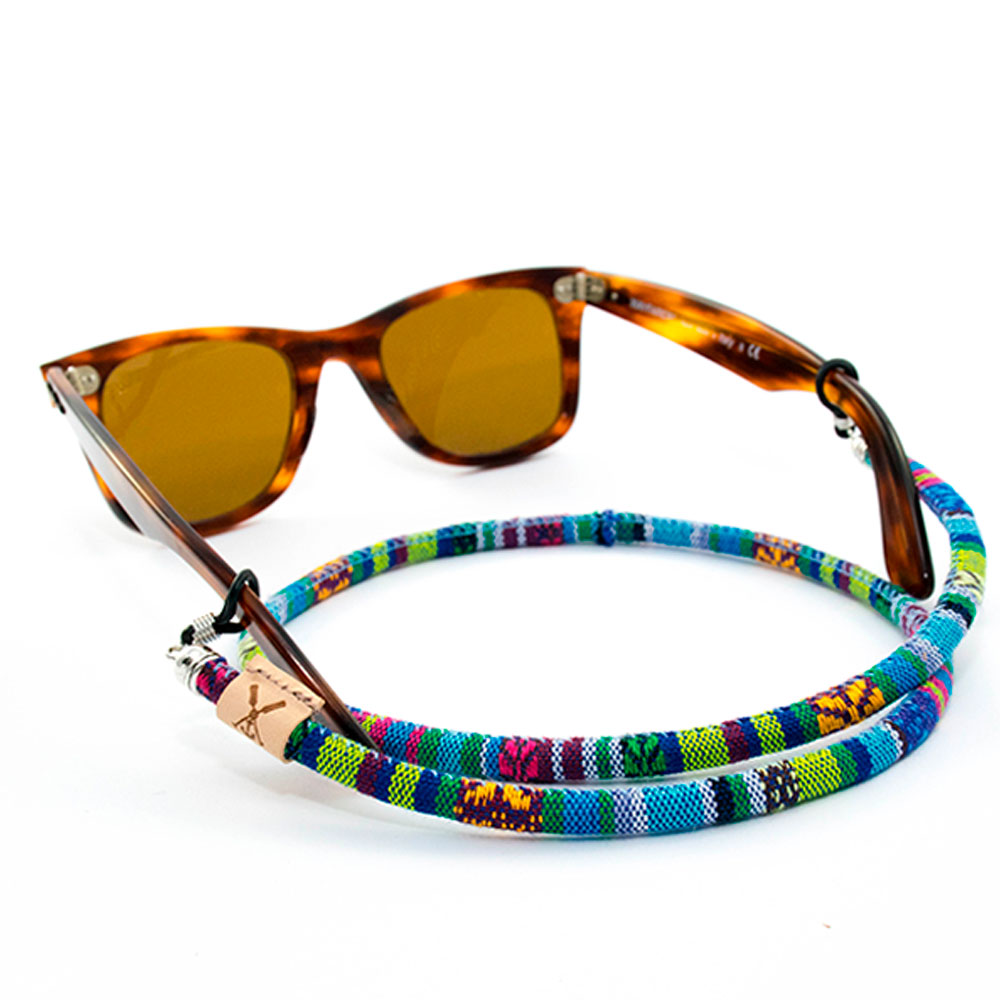 Cord For Glasses Turqueta-Sagone-Handmade In Spain-rubber Bands High Strength