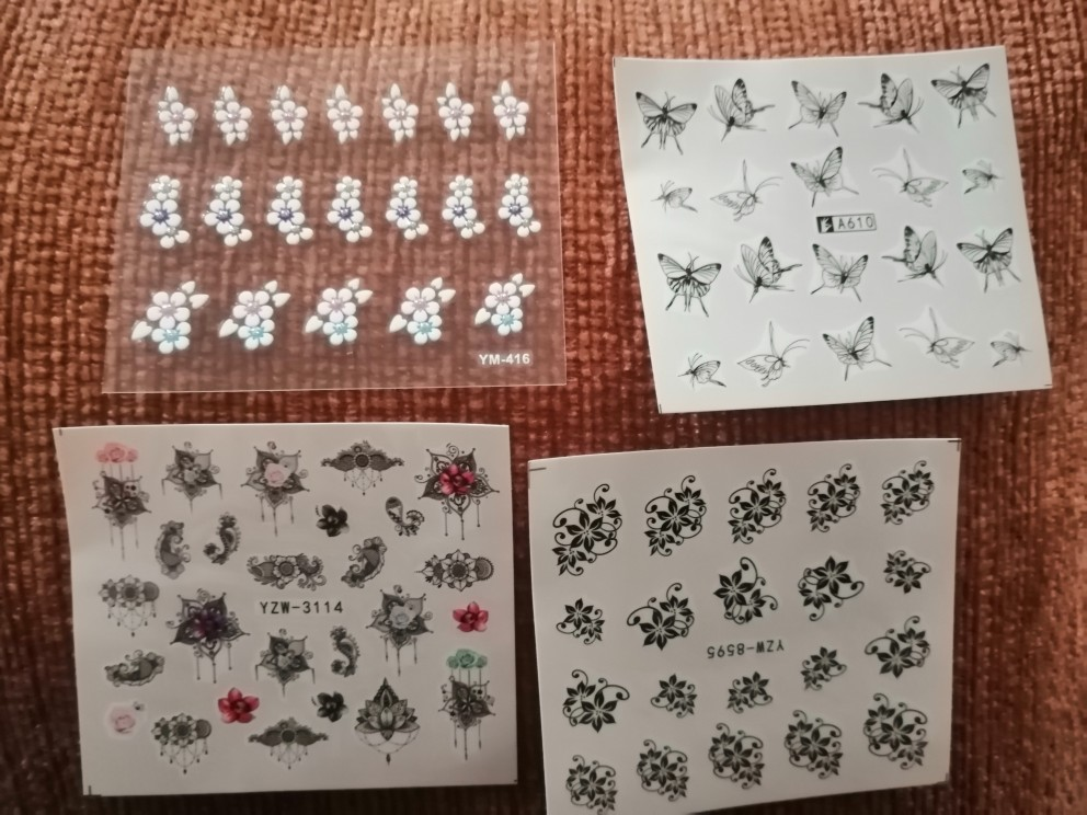 GAM-BELLE Nail sticker Art Decoration Slider kangaroo deer Animal Adhesive Design Water Decal Manicure Lacquer Accessoires reviews №2 150685