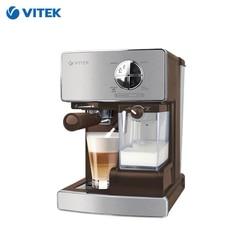 Kaffeemaschine Vitek VT-1516 horn Capuchinator kaffee maker Haushalts geräte für küche manuelle kaffee maschine