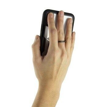 Прозрачный корпус с кольцом для Iphone
