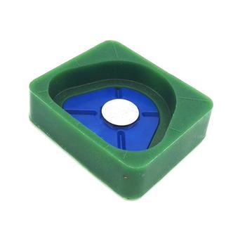 Dental Lab Silicone Plaster Mold Magnetic Base Dentist Lab Materials Plastic Model Former Base for Plaster Models with Magnetic