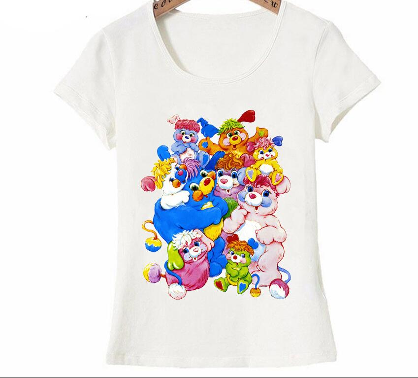 Dugujunyi 2020Pretty poples Group acuarela diseño camiseta verano moda mujer camiseta divertida estampado de dibujos animados chica camisetas casuales W Bolso grande transparente de PVC para mujer, bolsos de hombro tipo shopper de viaje, transparente, transparente, para verano