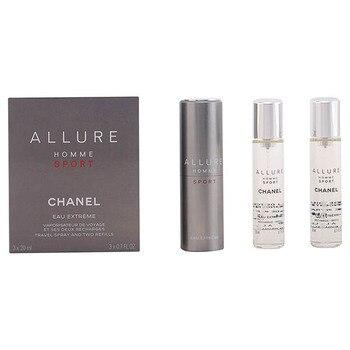 Set de Perfume Hombre Allure Homme Sport Chanel (3 pcs)