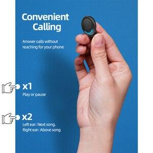 Image 5 - Ubeamer kablosuz kulaklık dokunmatik kontrol, LED ekran, gürültü iptal kulaklık, su geçirmez, en iyi Bluetooth F9 insan mikrofonlu kulaklık