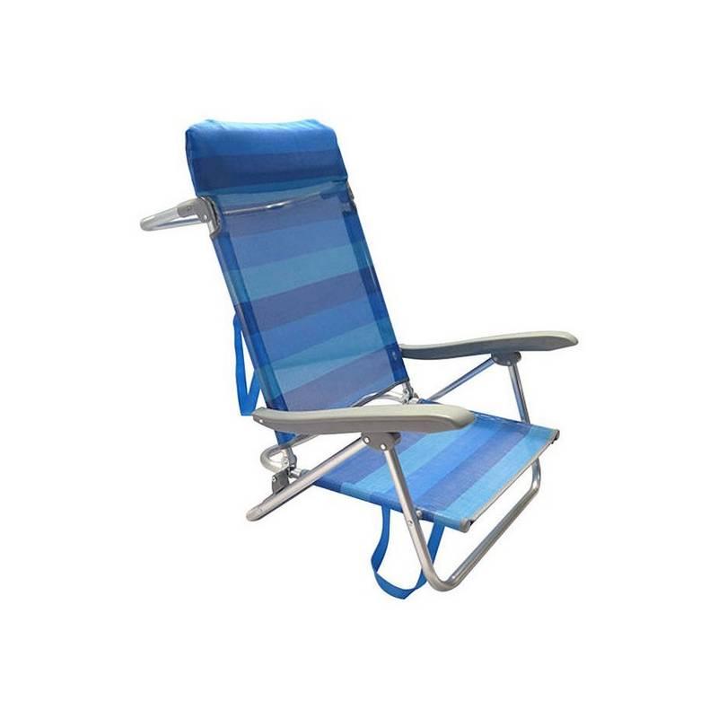 Chair With Armrest (65x48x82 Cm) Blue