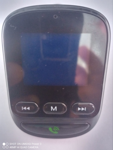 Coche Bluetooth 5,0 transmisor FM manos libres inalámbrico receptor de Audio MP3 jugador USB de carga rápida 3,0 de carga rápida