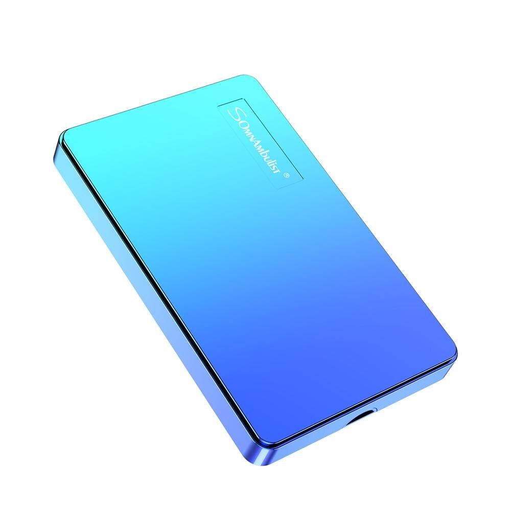 SomnAmbuList portable external hard drive 1TB USB3.0 500g HDD per computer e laptop hard drive 2TB di storage dispositivo HD Externo