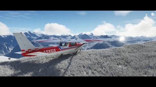 《微软飞行模拟》加入冰雪天气效果 与现实世界保持一致插图