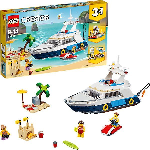 Конструктор LEGO Creator 31083: Морские приключения