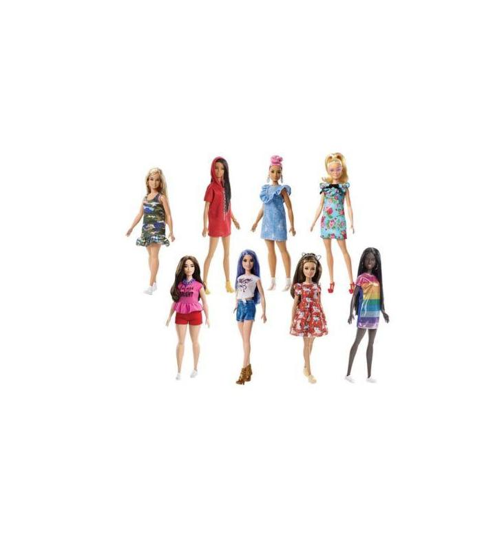 Doll Barbie Fashionistas Assorted Toy Store