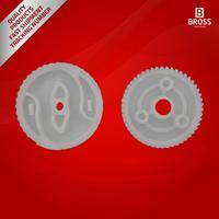Bross BGE524 2 Pieces Left Door Lock Latch Actuator Repair Gears 51217202143 For 1 3 5 F Z Series|Locks & Hardware| |  -