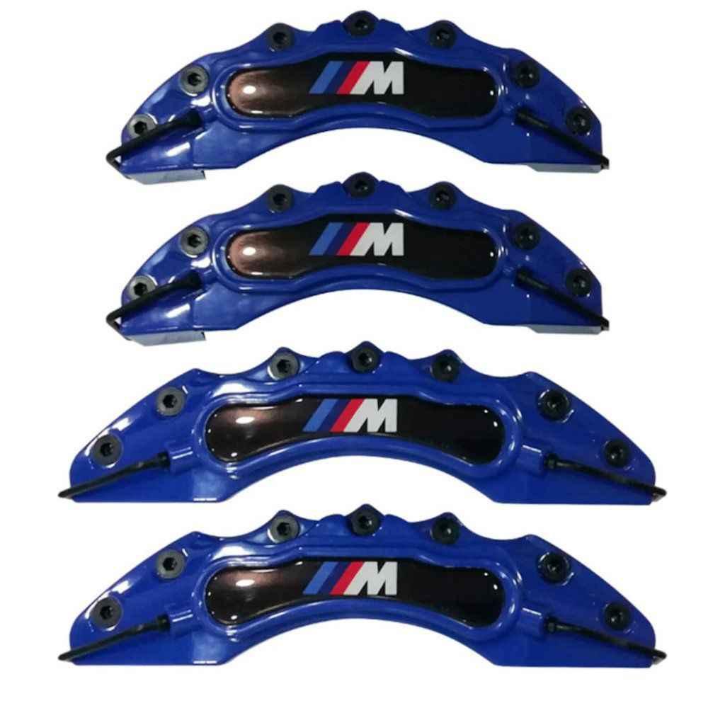 4 Dark Blue Bmw Brake Caliper Covers E30 E36 E46 E39 E90 E91 E92 E60 F80 F82 M Power Discs Rotors Hardware Aliexpress
