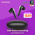 1MORE Comfobuds Pro ANC Noise Cancelling Bluetooth 5.0 TWS Wireless Headphones QuietMax 13.4mm Bass Dynamic AAC Gaming Headset