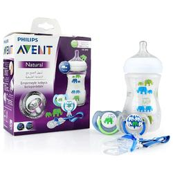 Philips Avent SCD628 Elephant Patterned Gift Set