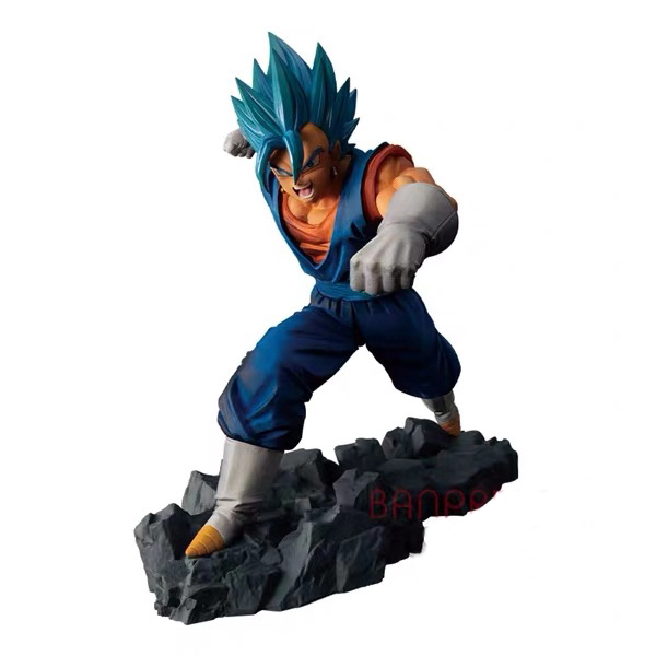 In Stock Original Banpresto Dragon Ball Z Dokkan Battle Collab Super Saiyan Vegetto PVC Action Figure Model Figurals Dolls