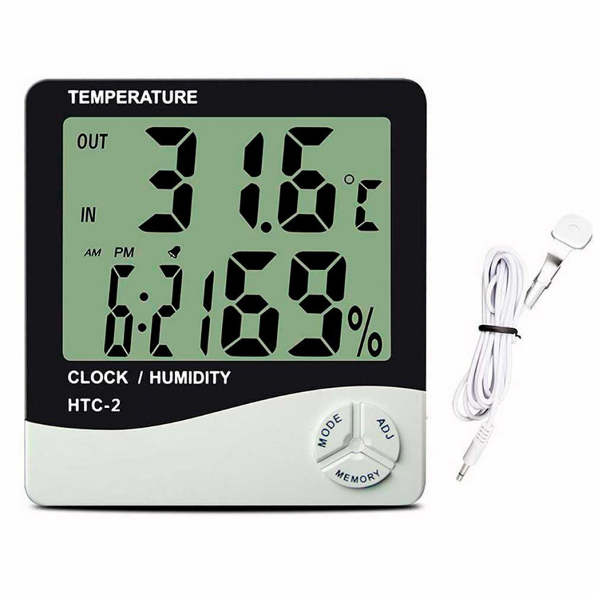 Digital Weather Station With Battery LR03-AAA 1,5V 7hSevenOn Elec