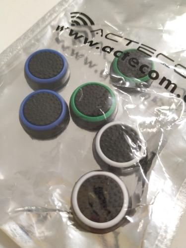 Grip Protector Joystick Funda PS4 TPU Mando TAPON Agarre Silicona Xbox Varios Colores