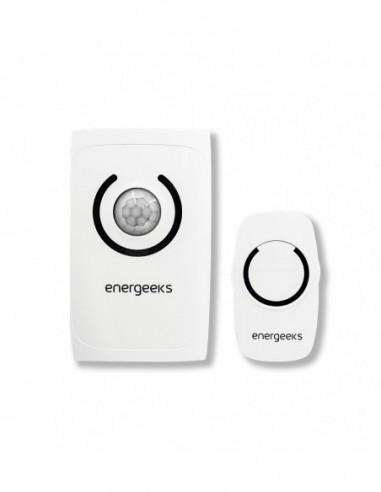 Wireless Doorbell + Alarm With Motion Detecting Energeeks EG-ALT001