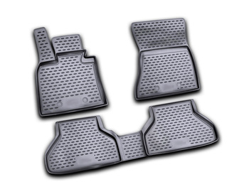 Floor mats for BMW X6 E71 2009~2014 car interior protection floor from dirt guard car styling tuning decoration image