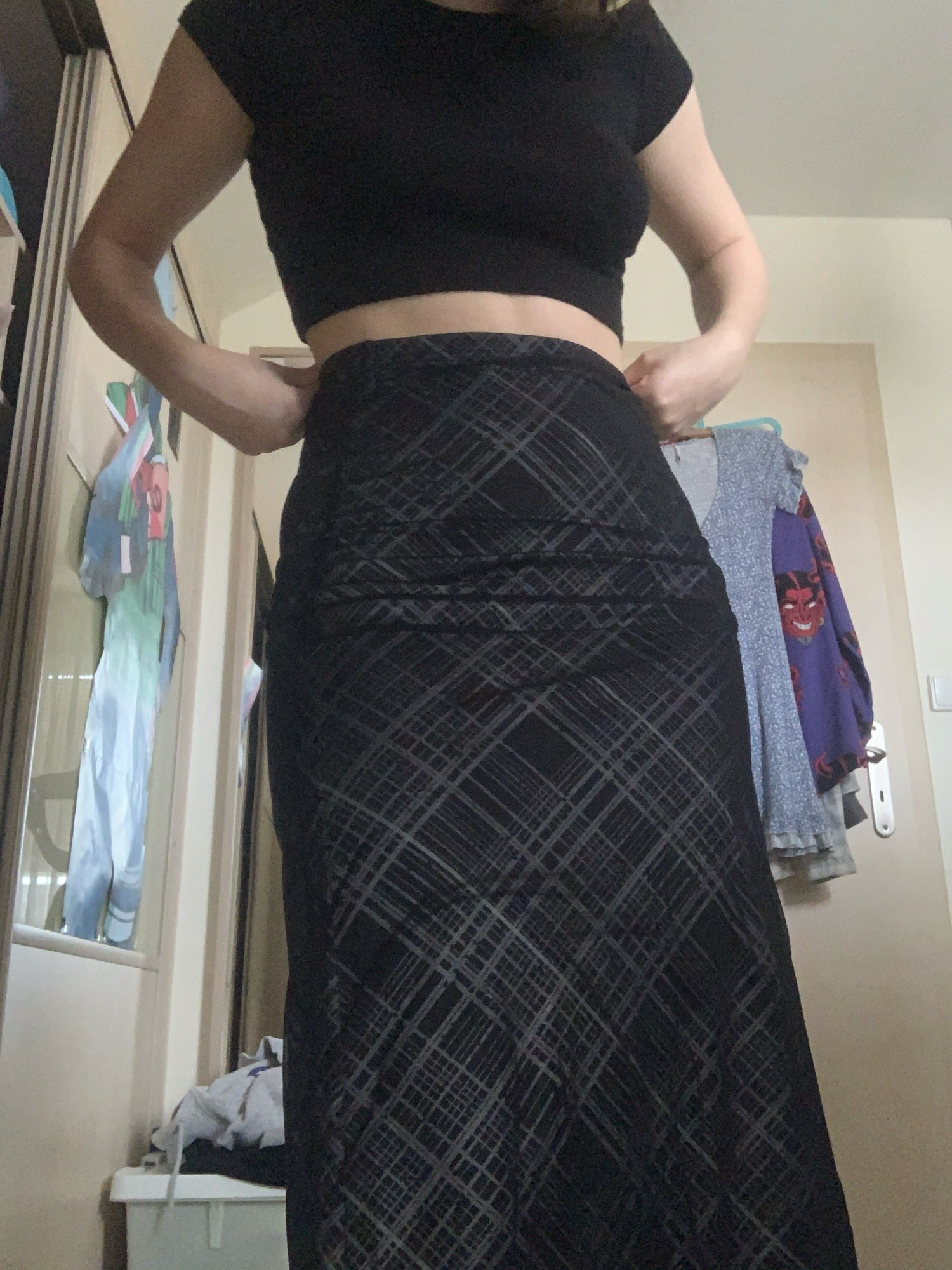 Double Layer Long Skirts photo review