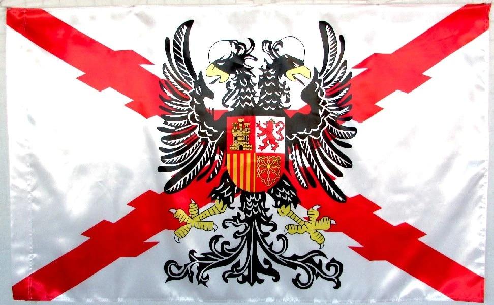 Bandera Tercios Españoles bandera Cruz Borgoña Águila Bicéfala La ...