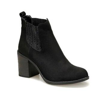 FLO BELLO85Z SUEDE Black Women Boots BUTIGO