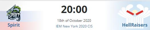 沙龙电竞:10月18日IEM纽约站2020独联体区小组赛前瞻插图(1)