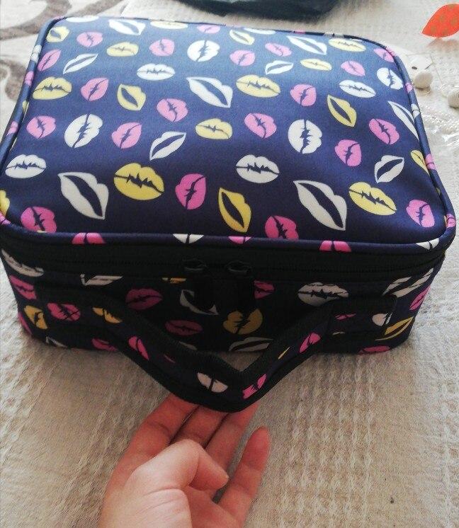 Bolsas p/ cosméticos necessário necessário mulheres