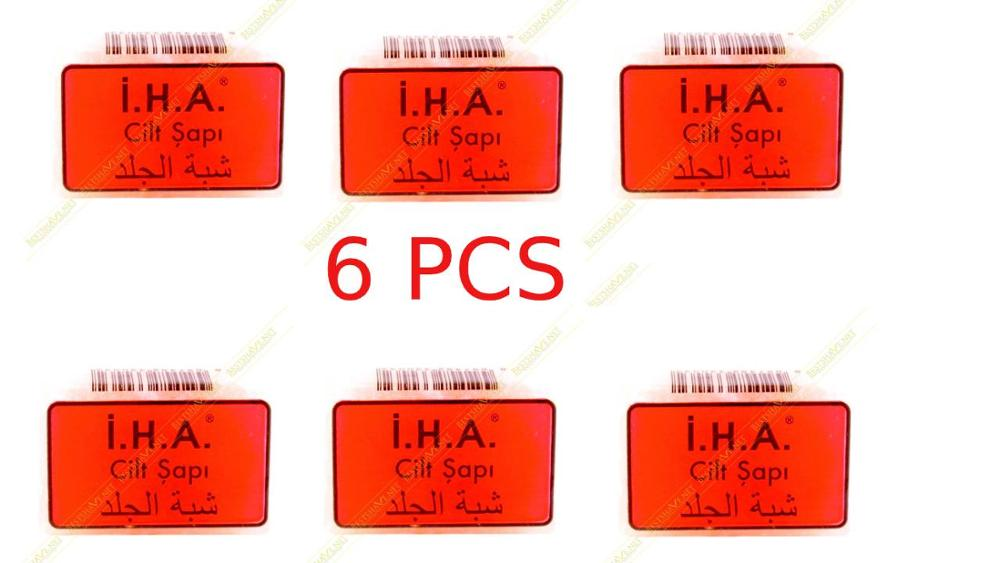6 Pcs Alum , Alum Block, Styptic Pencil Alum Stone Alum Block Shaving Alum Stick Alum Bar Shaving Alum Osma Alum Block