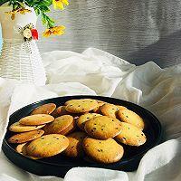 哄娃神器㊙️黑白芝麻蛋圆饼干 简单拌一拌的做法图解5