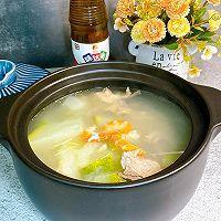 鲜美的冬瓜干贝虾仁汤的做法图解10