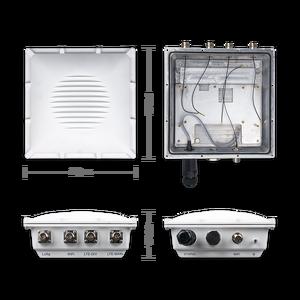 Image 3 - WisGate Puerta de enlace exterior RAK7249, inalámbrica, sistema operativo OpenWRT integrado, 16 canales, LoRa, 4G, WIFI, GPS y batería de repuesto