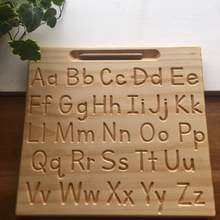 Original Upper and lowercase Alphabet side by side   Alphabet Board   Tracing Board