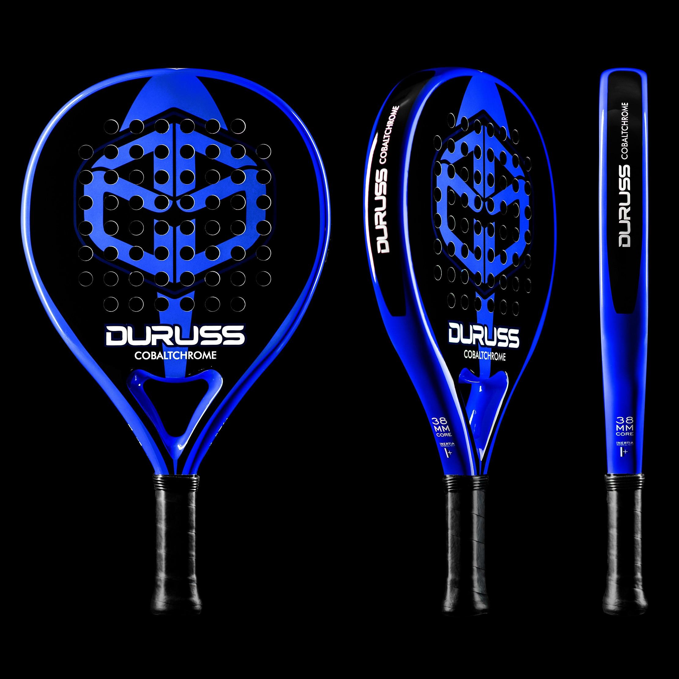 Tennis Paddle Raquet Professional Cobalt Chrome. High Technology. Premium Pro Carbon And Fiberglass. PU Sheath 350 - 365 G