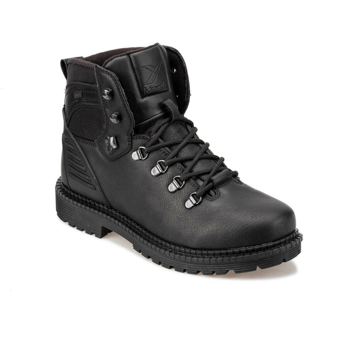 FLO ELANO 9PR Black Men Boots KINETIX