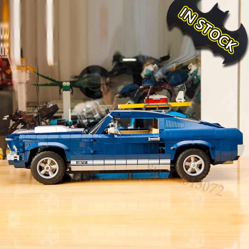 Forded Mustanged Car Set 21047 Creator 10265 1648Pcs 11293 91024 Blocks Bricks Education Toys Technic Model Building Kits