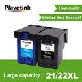 Сменный картридж Plavetink для HP Deskjet F300 F380  заправка картриджей для HP 21 22 XL F2180 F2200 F2280 F4180 380